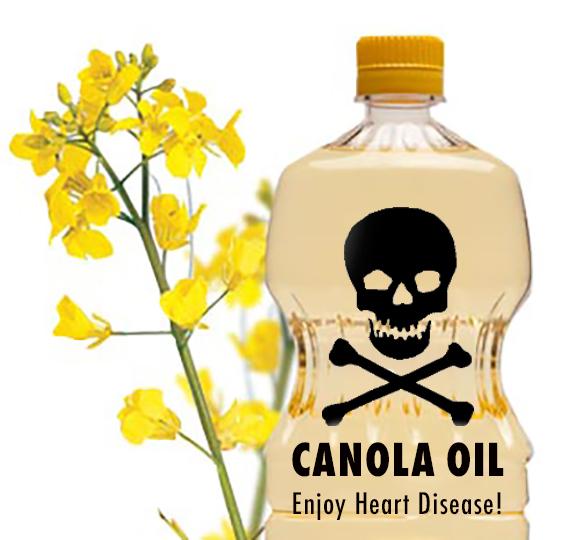 Canola Oil: Heart Disease in a Bottle