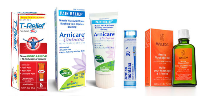 Arnica products