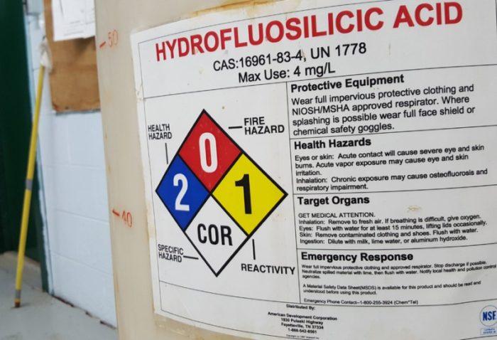 hydrofluosilicic acid
