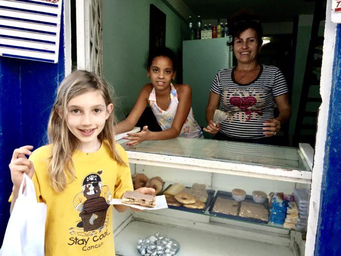 Mom+Pop bakery in Central Havana