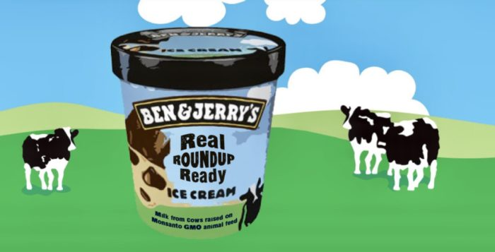 Ben and Jerry's Monsanto cows