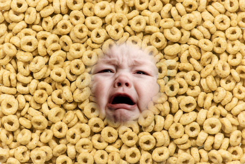 A chemical used to clean pipes in your Cheerios?