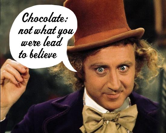 Willie Wonka chocolate quote