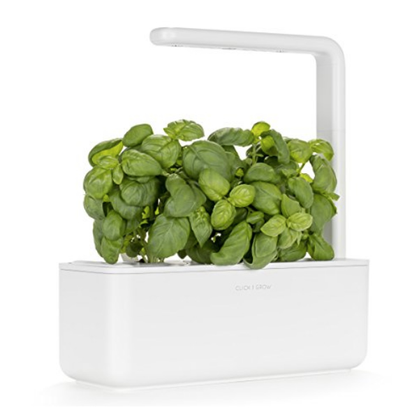 A Garden that takes care of itself?! Click & Grow Indoor Gardening Kit