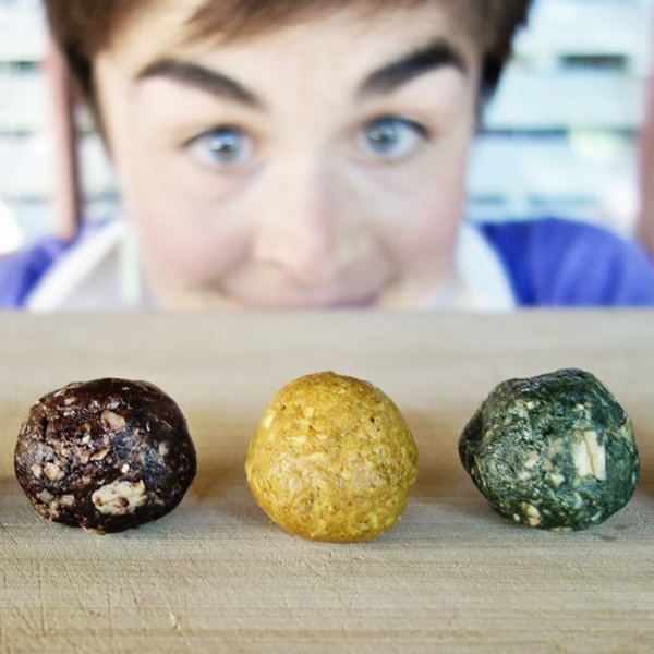 Holiday Spiced Energy Balls with Maca