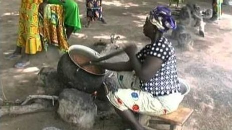 Making Shea Butter in Ghana