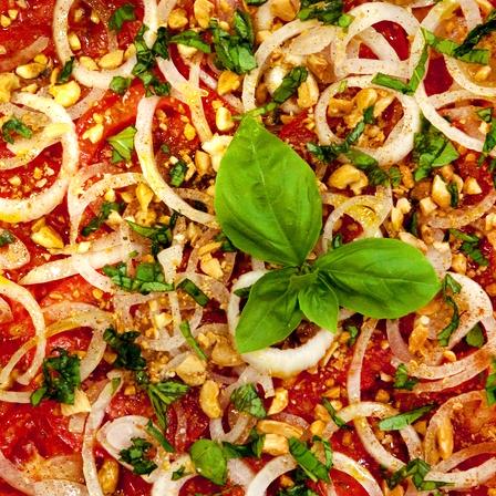 Moroccan Tomato Cinnamon Salad