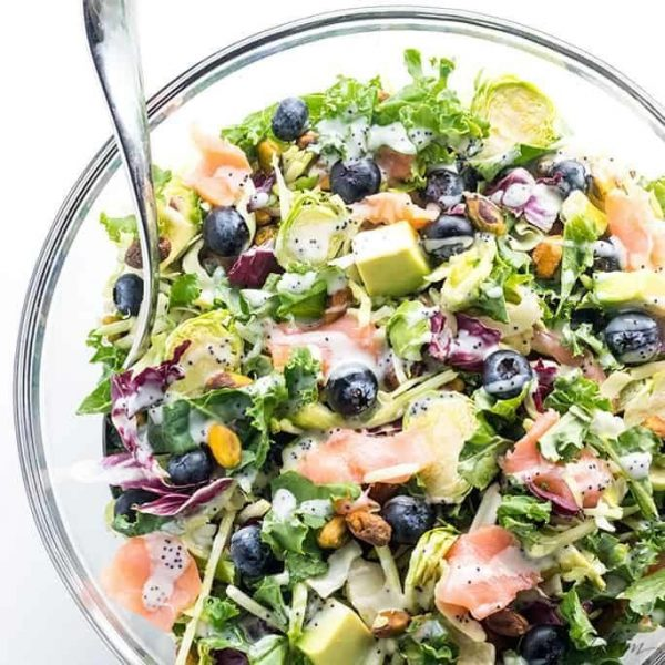 Salmon Kale Superfood Salad