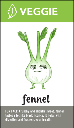 fennel in smoothie