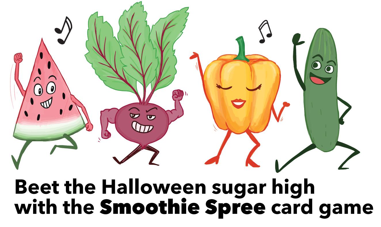 Halloween sugar high