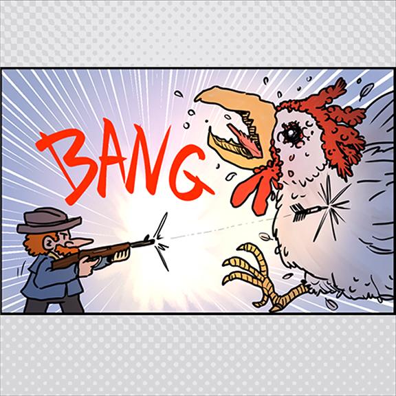 Chickenzilla
